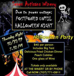 Seven Artisan Halloween